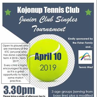 Kojonup Tennis Club