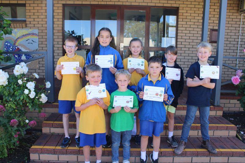 November Award winners