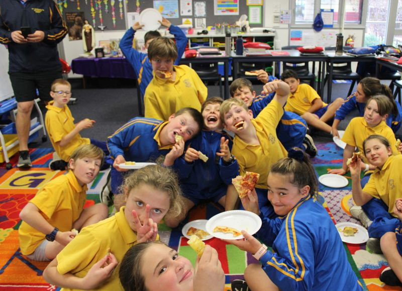 Year 5 and 6 Pizza