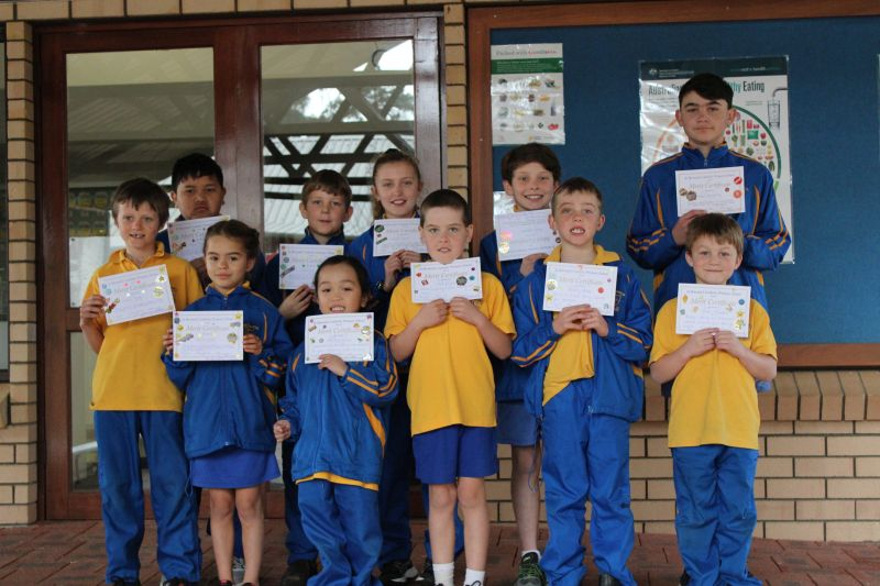 Merit Assembly Award Winners