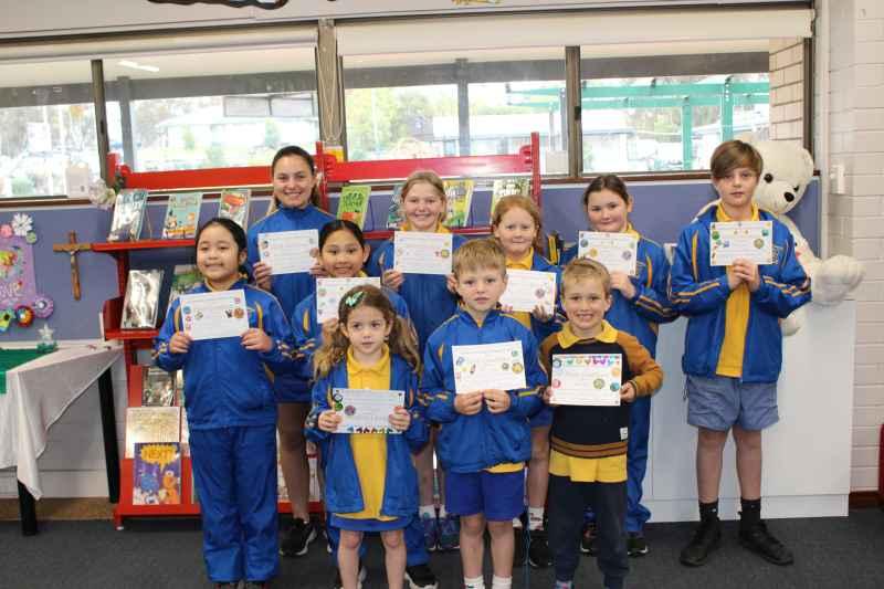 Merit Award Winners Term 3 Week 2